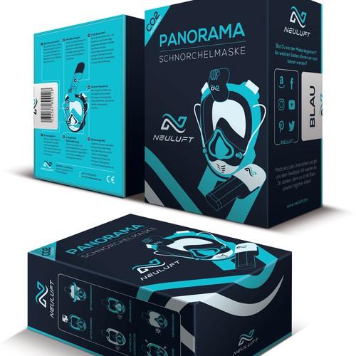 Snorkel Mask Gift Box