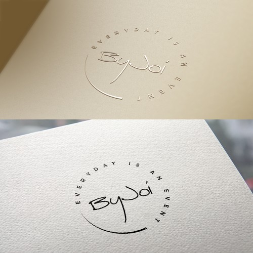 Title Logo for event planning agency