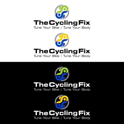 "Logo for ""THE CYCLING FIX"""