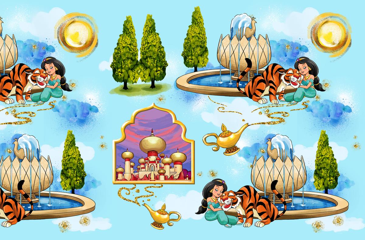 Custom whimsical Aladdin