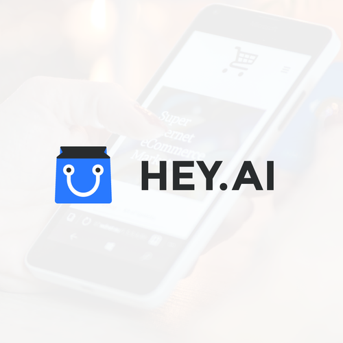 The AI ultimate shopping assistant logo.