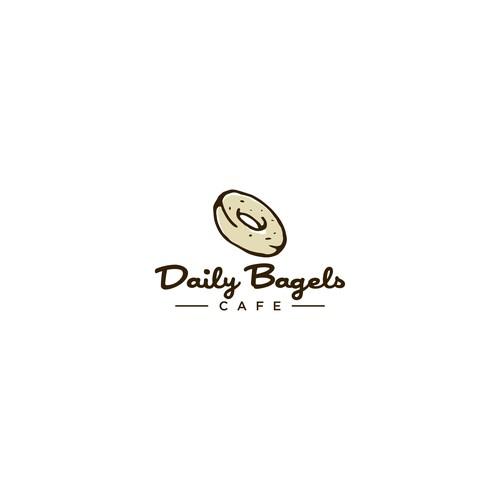 Logo Design for Bagel & Coffee Shop