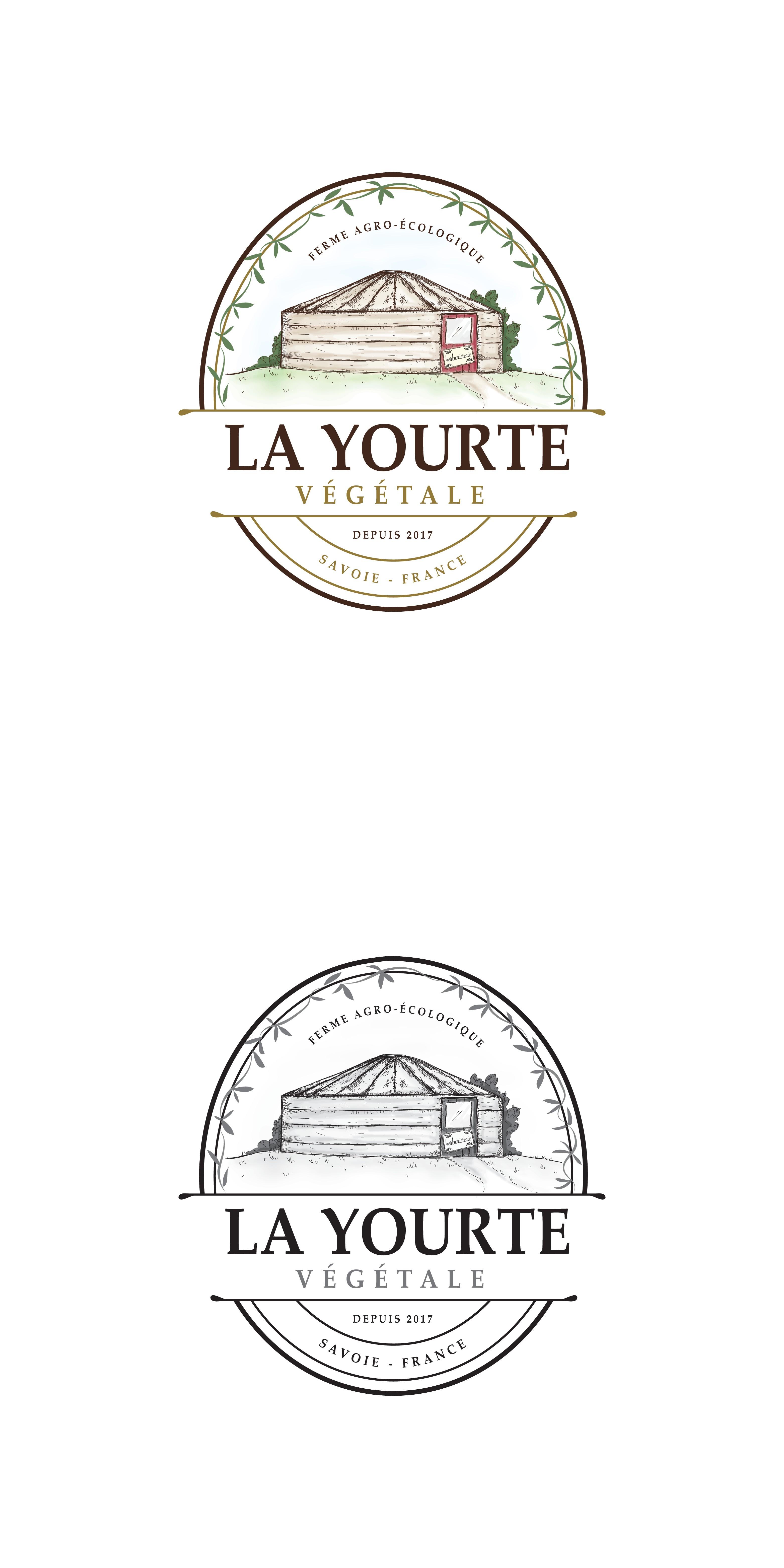 """La Yourte Végétale cherche un logo """"naturel"""""""