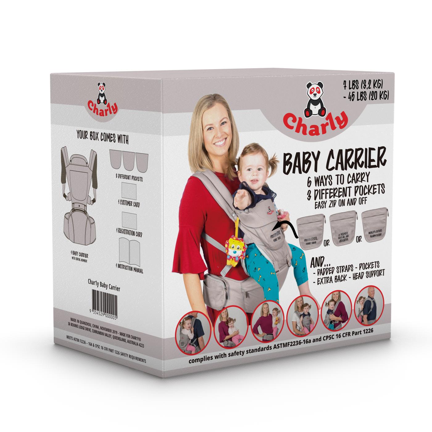 Char1y - Packaging Design
