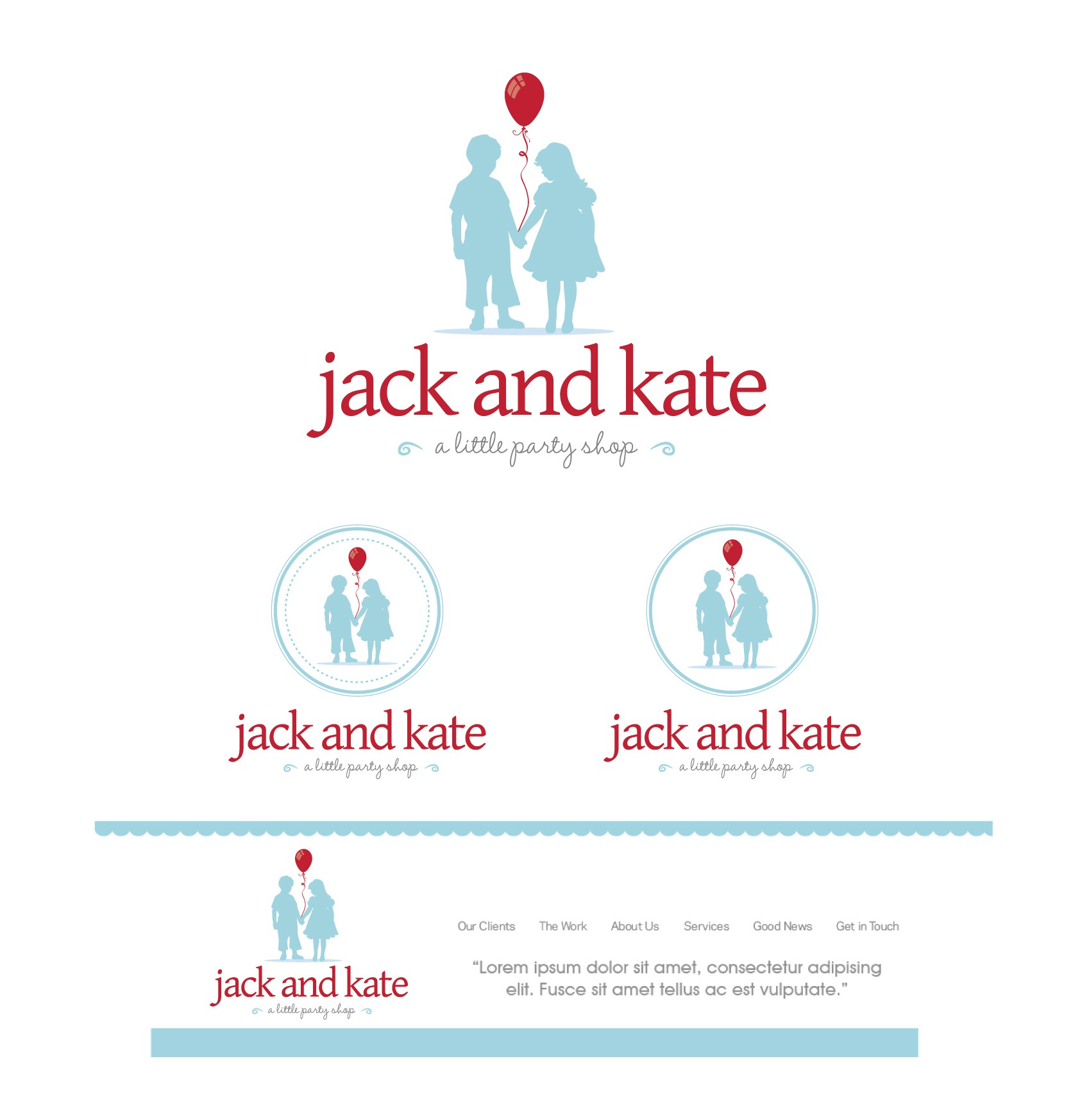 Help Jack and Kate with a new logo