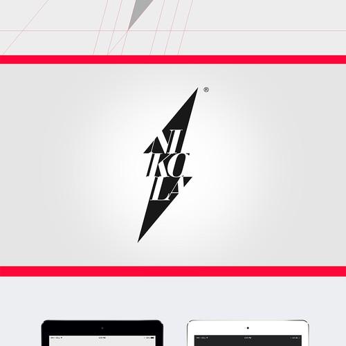 Create a logo for Nikola, a website creation tool
