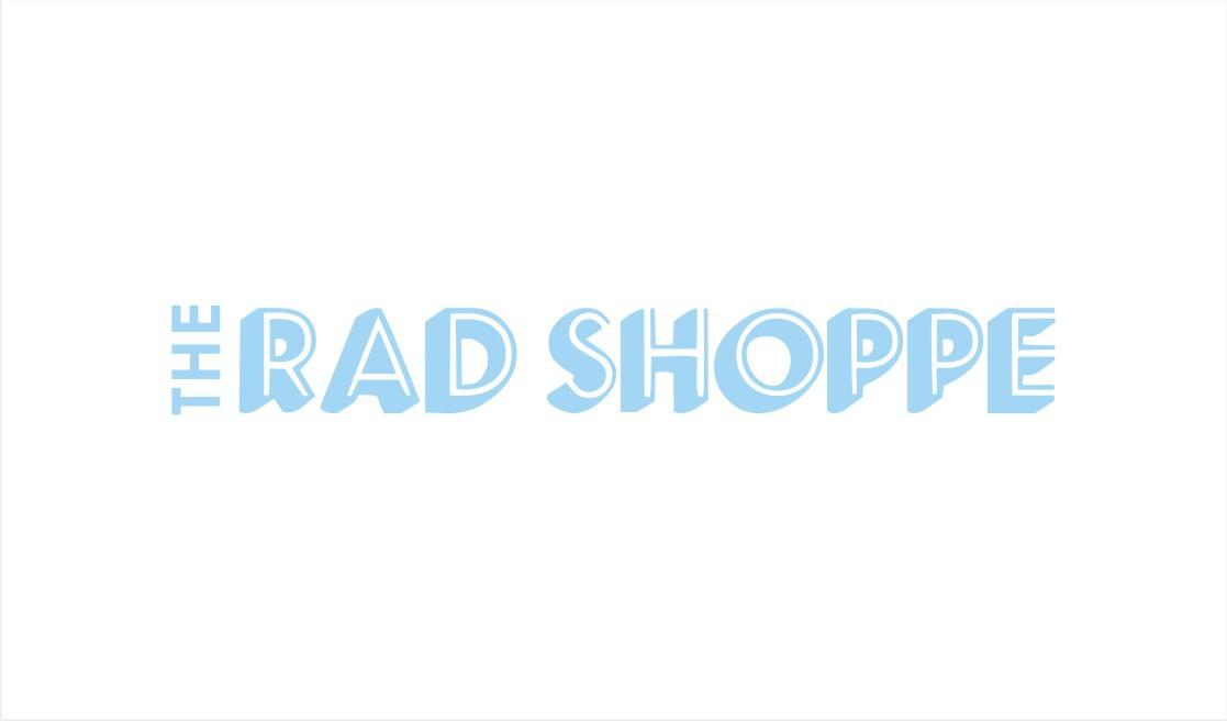 Logo for 'The Rad Shoppe'