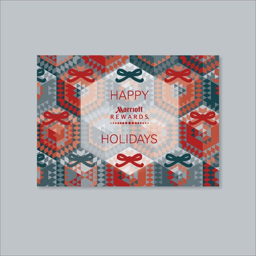 Festive Holiday Card