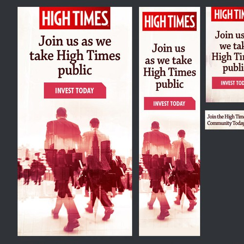 Banner Ad for Cannabis Publication.
