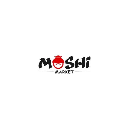 Logo Design For Moshi Market
