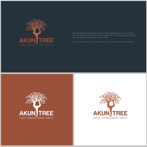 Strong logo concept for AkunTree.