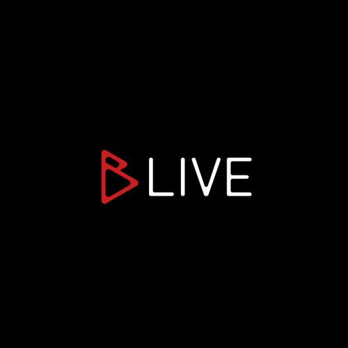 BLIVE logo design