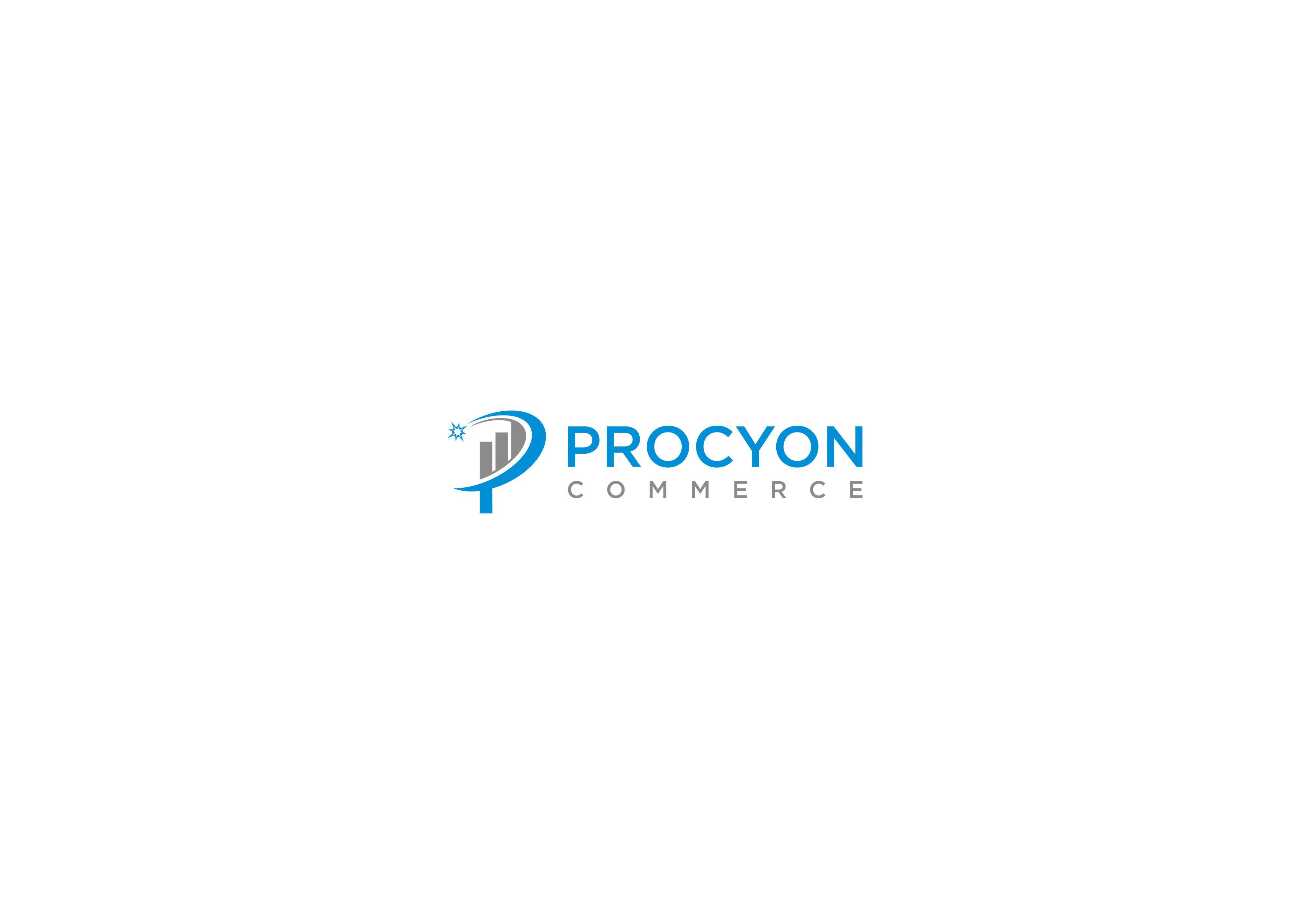 create a breakthrough logo for ProcyonCommerce