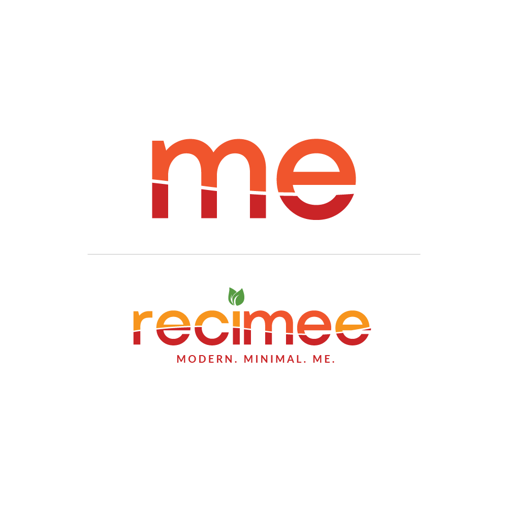 Dare you to create a modern logo for recipe site