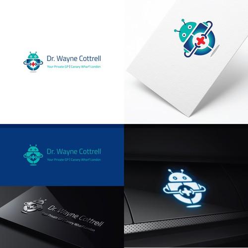 Futuristic Medical Clinic Logo