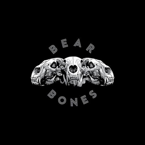 Tshirt design for BEAR BONES