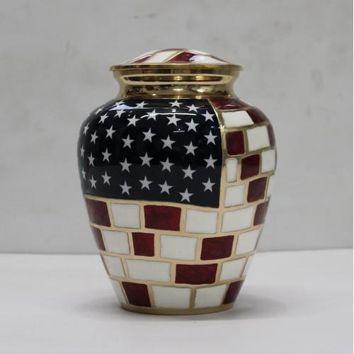 USA memorial urn