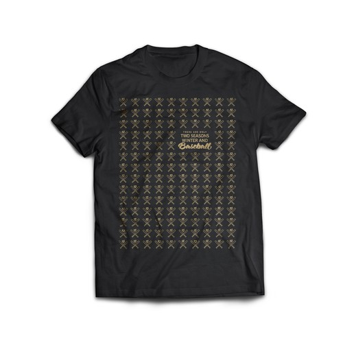 Baseball theme shirt