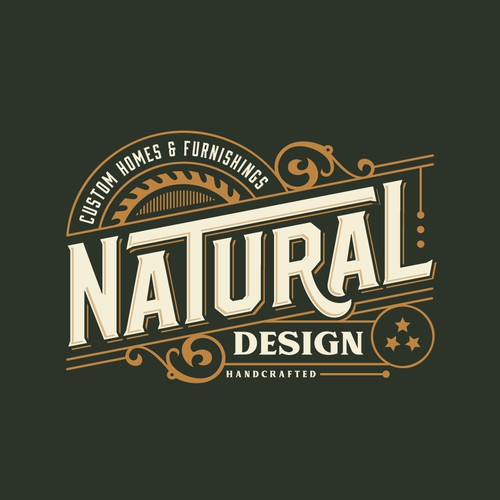 logo design for custom homes & furnishings