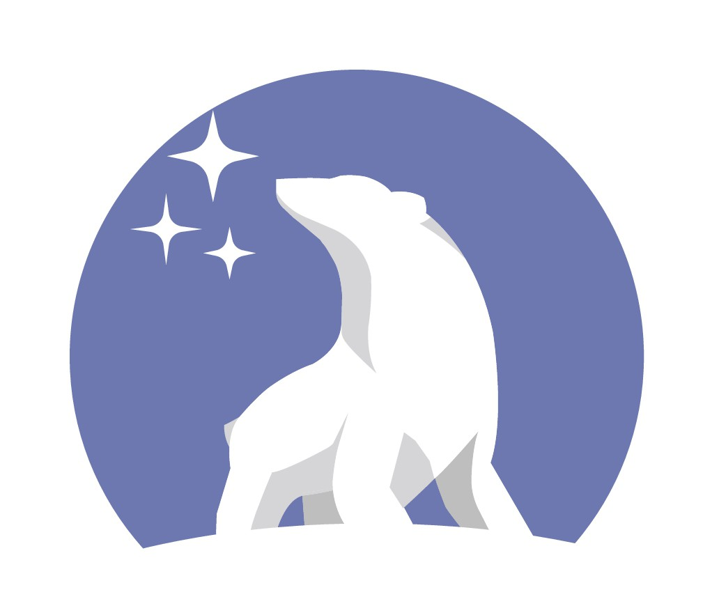 Logo for a nonfiction essay website about living in Anchorage, Alaska
