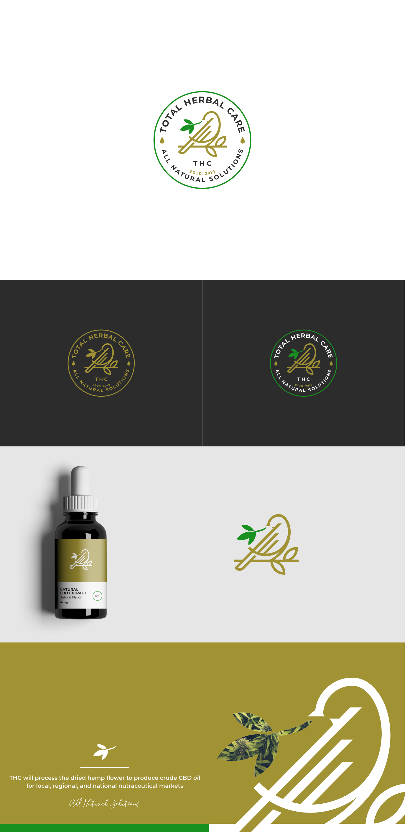 Cannabis brand logo (you already designed)
