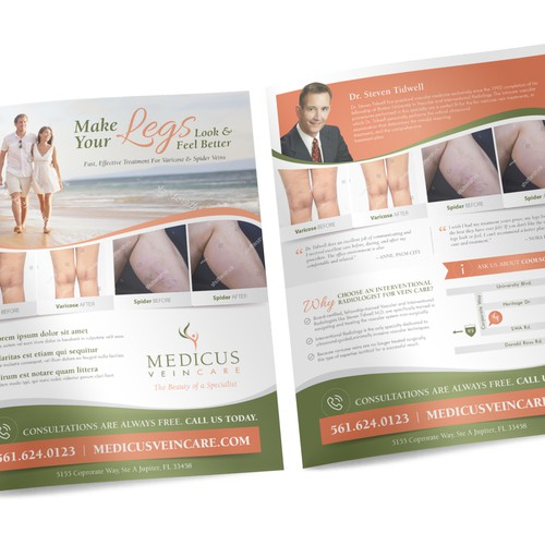 Create a beautiful medical insert for Medicus