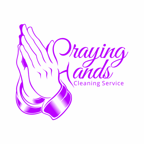 Line Art for Praying Hands