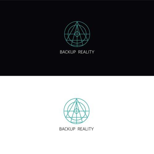 Simplistic logo for Backup Reality