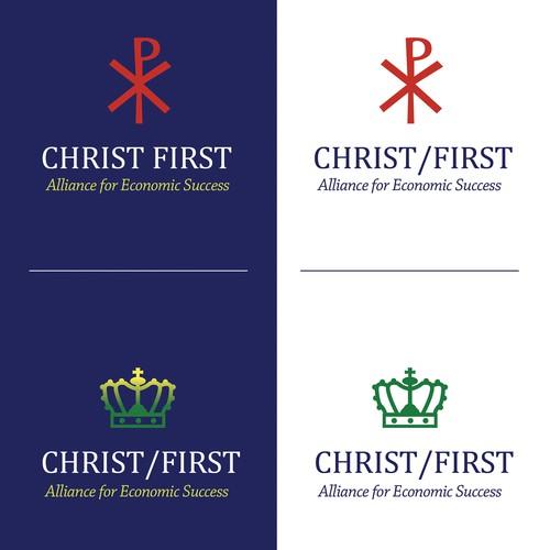 Christ First Logo