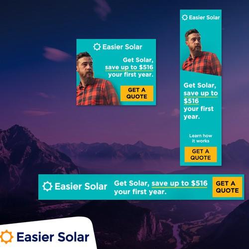 Banner Design for Easier Solar