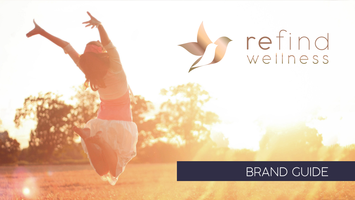 Re find Wellness Brand Guide