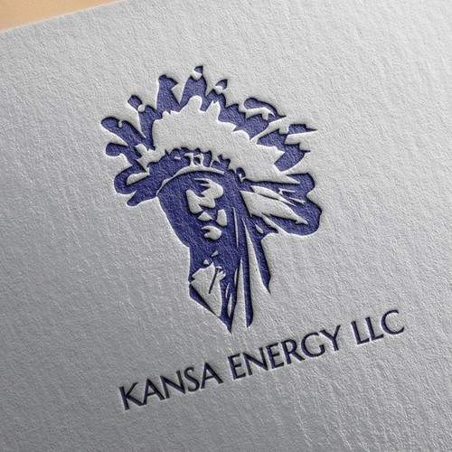 Logo for oil & gas company
