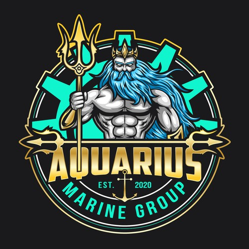 Aquarius Marine Group logo