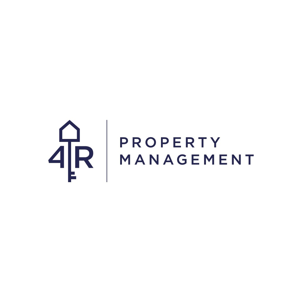 Property Management Logo - A KEY and a HOUSE!