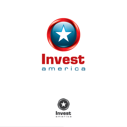 Create a logo for InvestAmerica.com to attract international investment professionals.