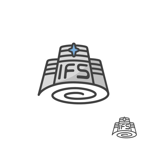 Spacy Logo Concept for IFS