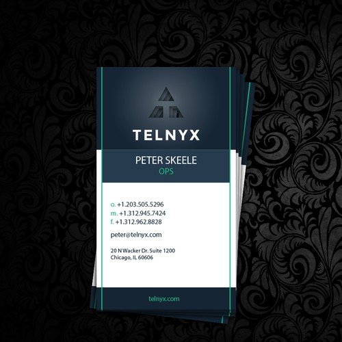 Telnyx businesscard