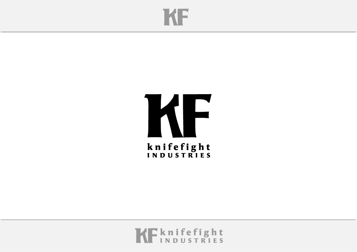 Logo for KF (Knifefight Industries)