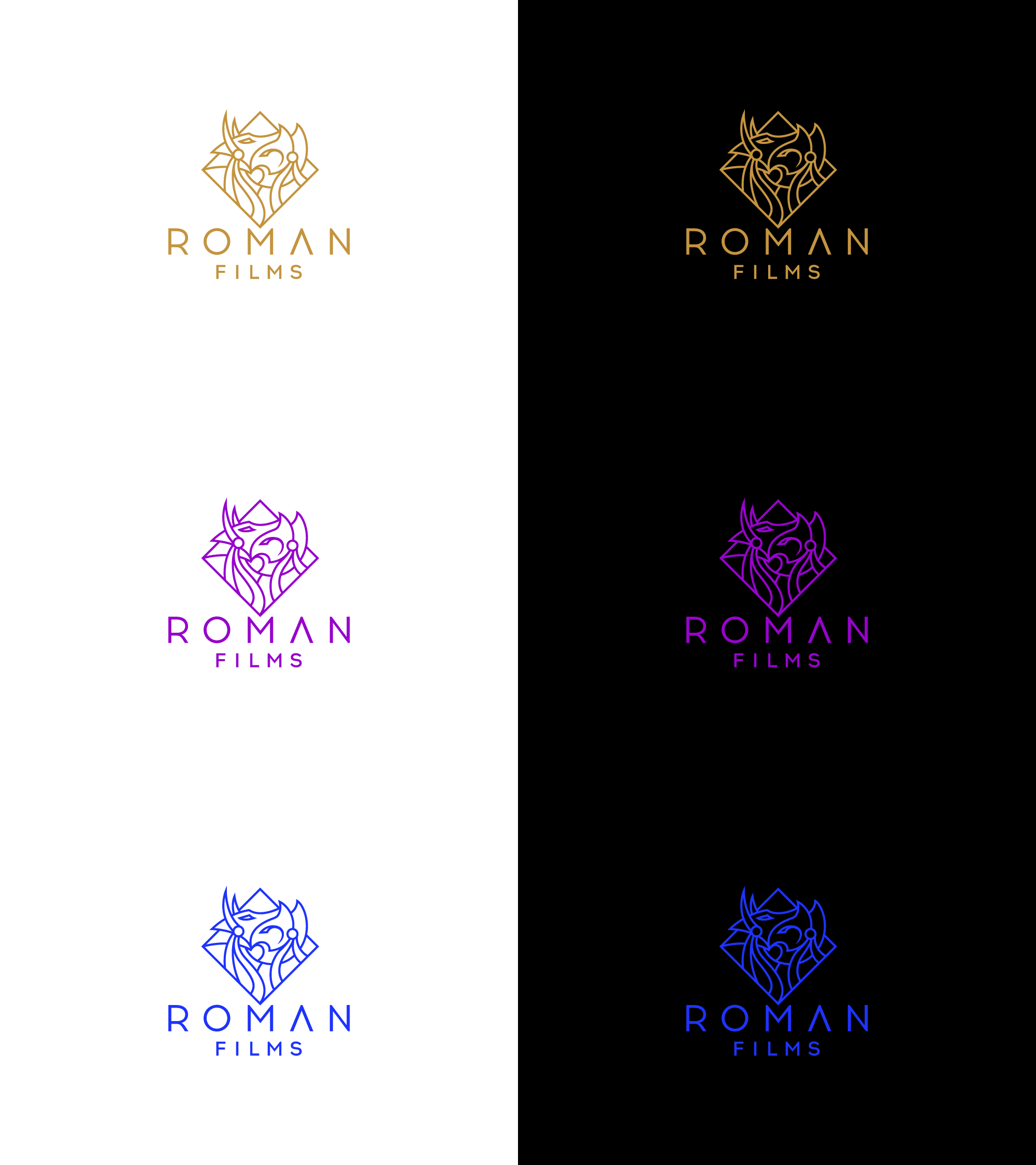GUARANTEED: Roman Films needs a powerful and captivating new logo