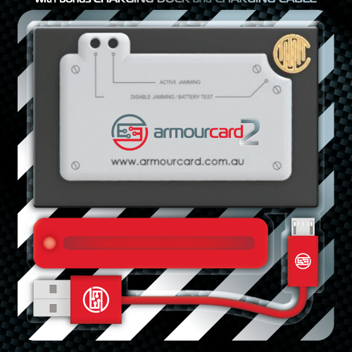 ArmourCard2 - Packaging Design