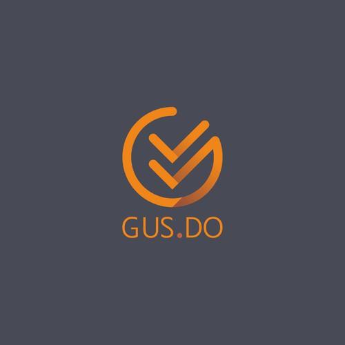 Logo draft for GUS.DO.