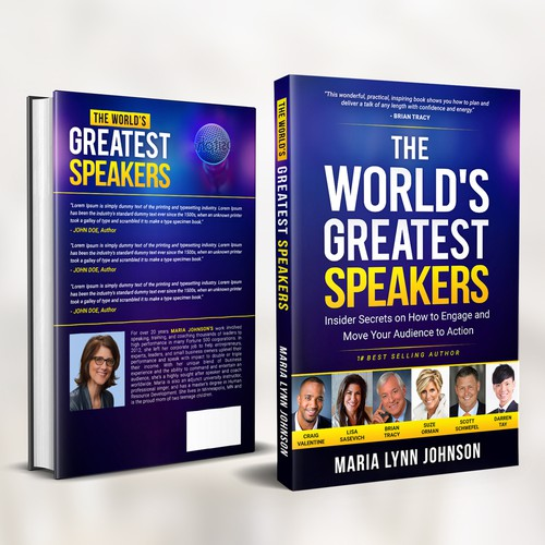 "Book Cover for ""The World's Greatest Speakers"""