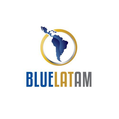 Create the next logo for Bluelatam