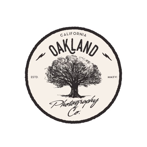 Logo for Oakland photography company.