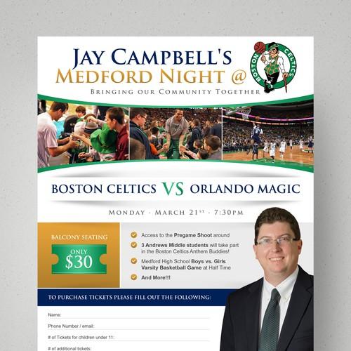 Community Fundraiser at a Boston Celtics game