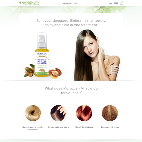 Design WebPage MAYBEAUTY