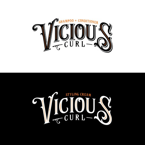 Vicious Curl - the new curly hair care brand