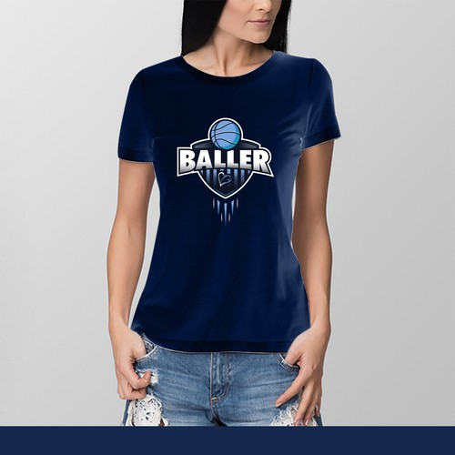 T-Shirt Design for Girls Sports Team
