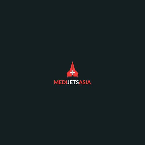 "Logo concept for ""MediJetsAsia"""