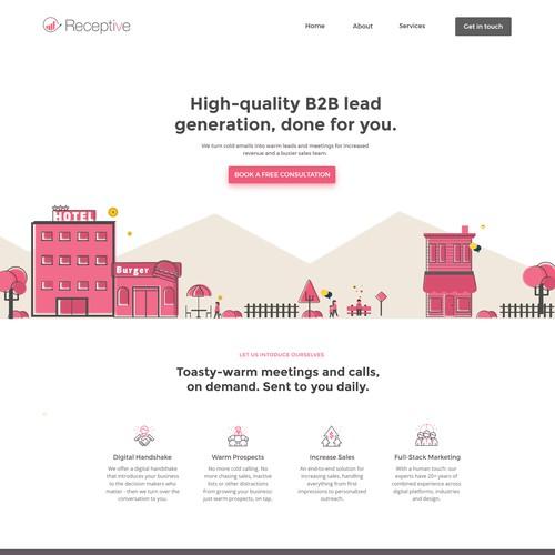 Design exploration for marketing agency